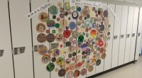 Student and parent art based on the Book The Dot by Peter H Reynolds. These were completed in our Community Room during our student led conferences.